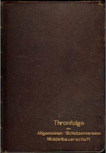 erstes Thronbuch